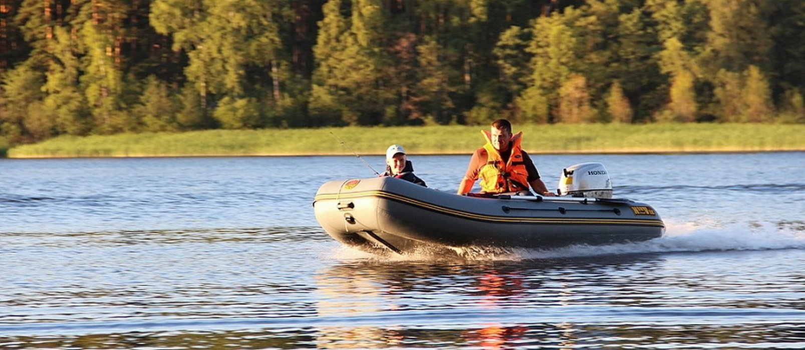 надувных лодок тест