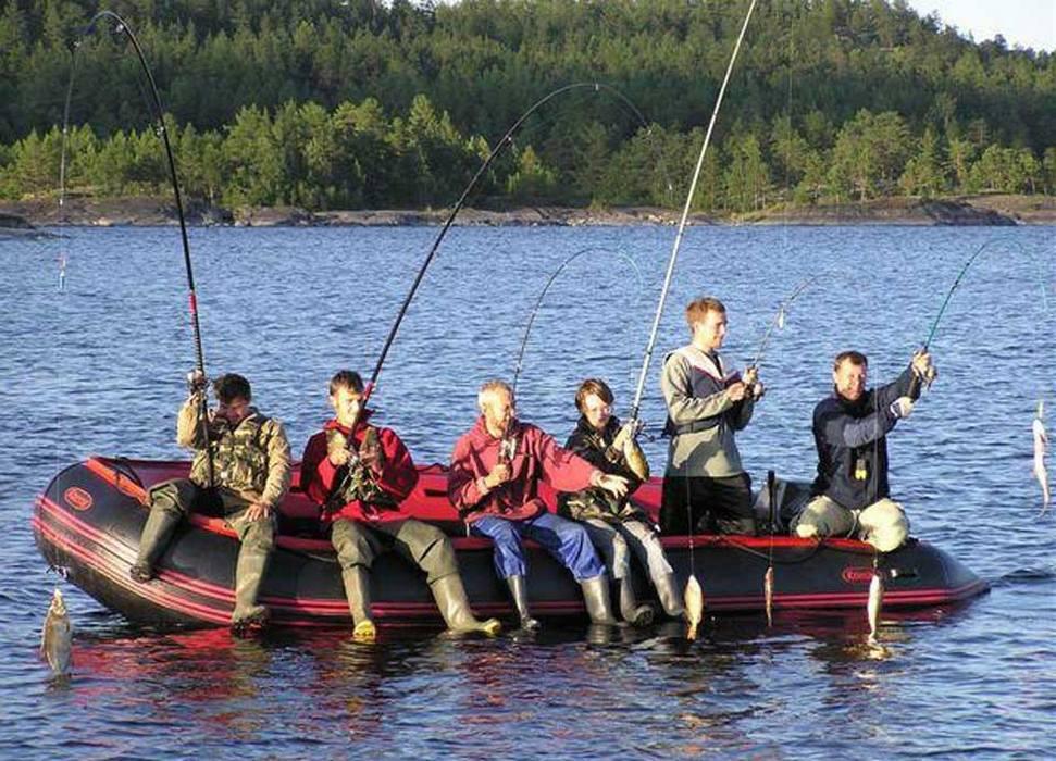 рыбалка на соловецких озерах